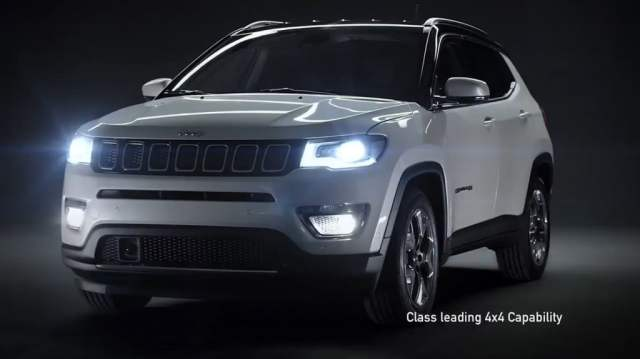 jeep compass india teaser image
