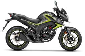 2017 honda cb hornet 160r striking green