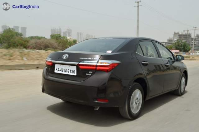 2017 toyota corolla altis test drive review 3