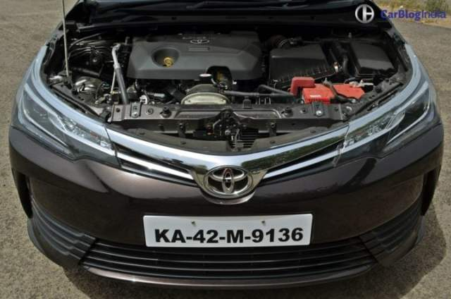 2017 toyota corolla altis test drive review engine
