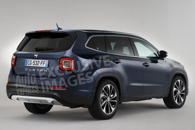 New Renault Duster 2017 Images Rear Angle
