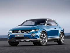 Volkswagen T Roc SUV Concept Images front angle