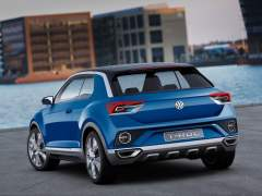 Volkswagen T Roc SUV Concept Images rear angle