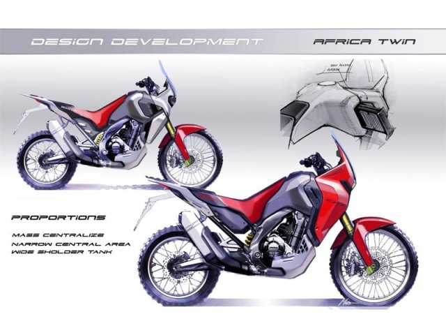 honda africa twin india design review image