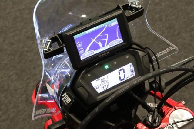 honda africa twin india images instrument console