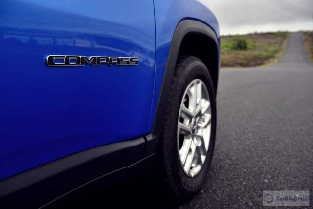jeep compass india images badge