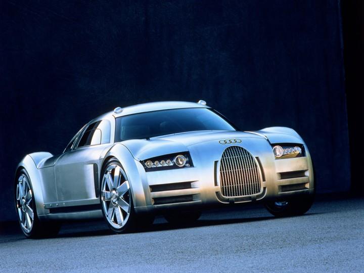 Audi Rosemeyer Concept 2000 Car Body Design