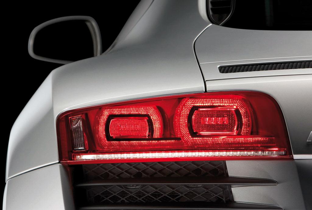 Audi R8 Led Rear Lamp Detail Car Body Design