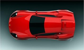 Ferrari Dino Concept Car Body Design