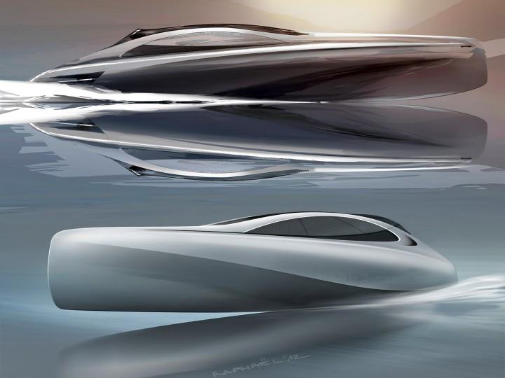 Mercedes Benz Style Previews Silver Arrows Motor Yacht