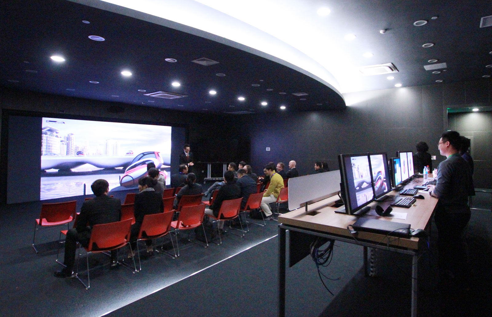 GM China Advanced Design Center Virtual Reality Room