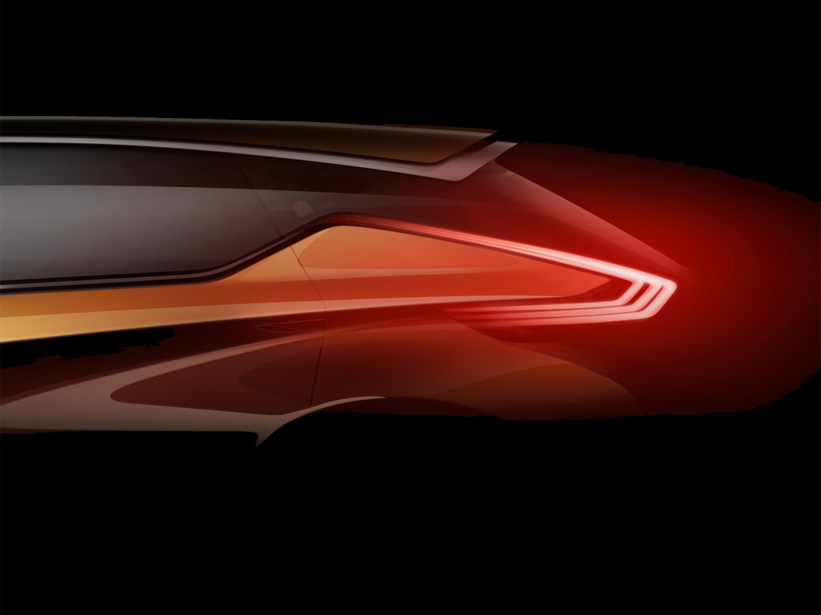 Nissan Resonance Concept Preview Design Sketch Car Body