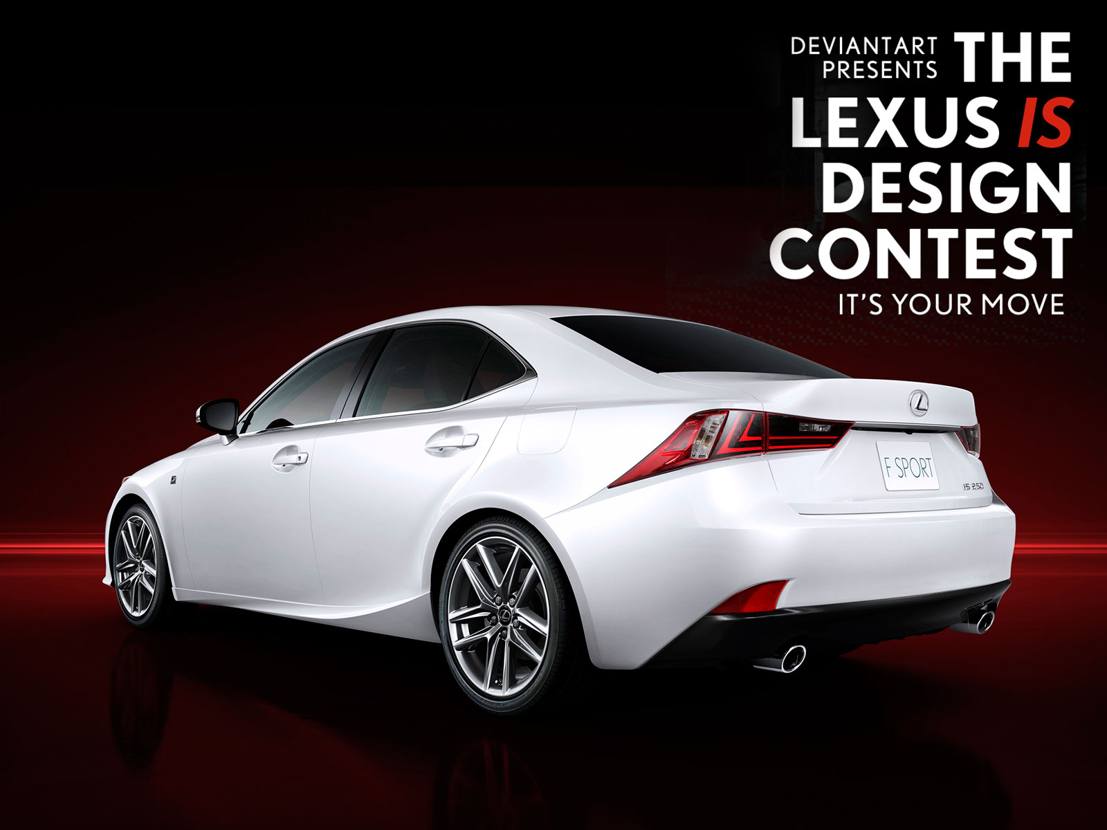 DeviantArt Lexus IS Design Contest Poster Car Body Design