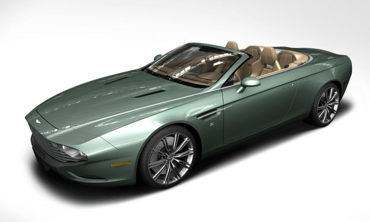 Zagato Aston Martin DB9 Spyder Centennial - Rendering