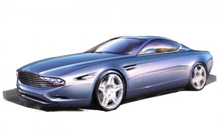 Zagato Aston Martin DBS Coupé Centennial - Design Sketch