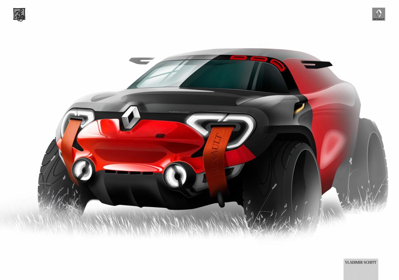 Renault Concept design sketch by Vladimir Schitt - Car ...