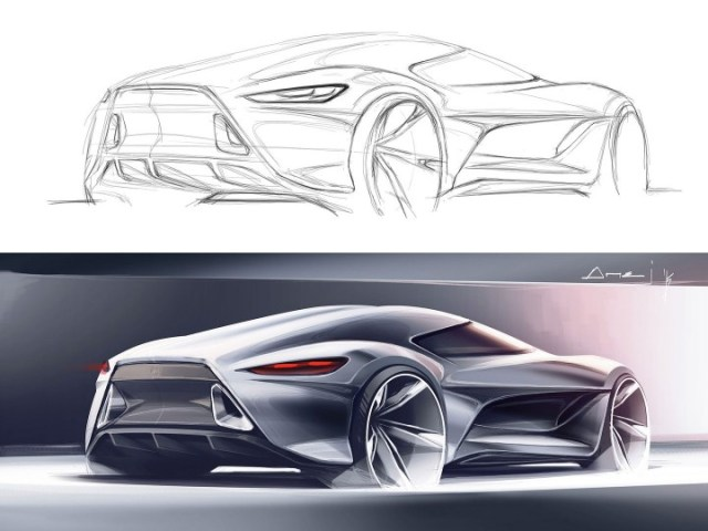 Sketchover  7     Car rendering in Photoshop   Car Body Design Sketchover  7     Car rendering in Photoshop