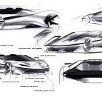 Ferrari J50 Design Sketches Car Body Design