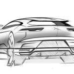 Jaguar I Pace Design Sketch Car Body Design