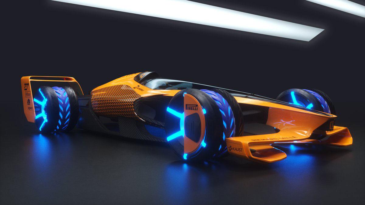 McLaren MCLExtreme 2050 Concept Car Body Design