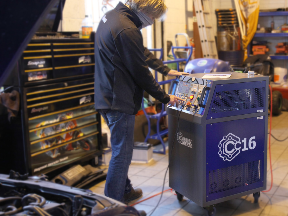 cc-16 carbon cleaning machine