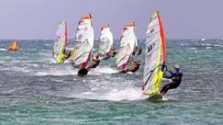 Carbon Art Slalom boards dominate at the Da Kine