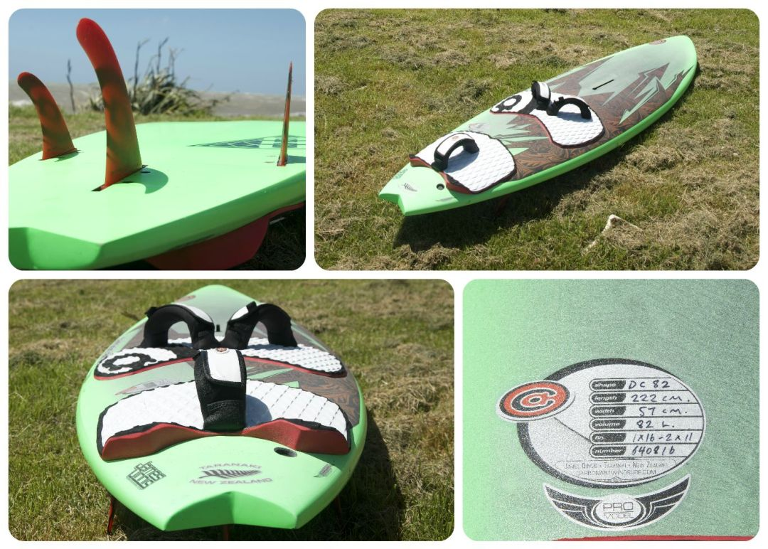 Ahu waveboard windsurfer by carbon art