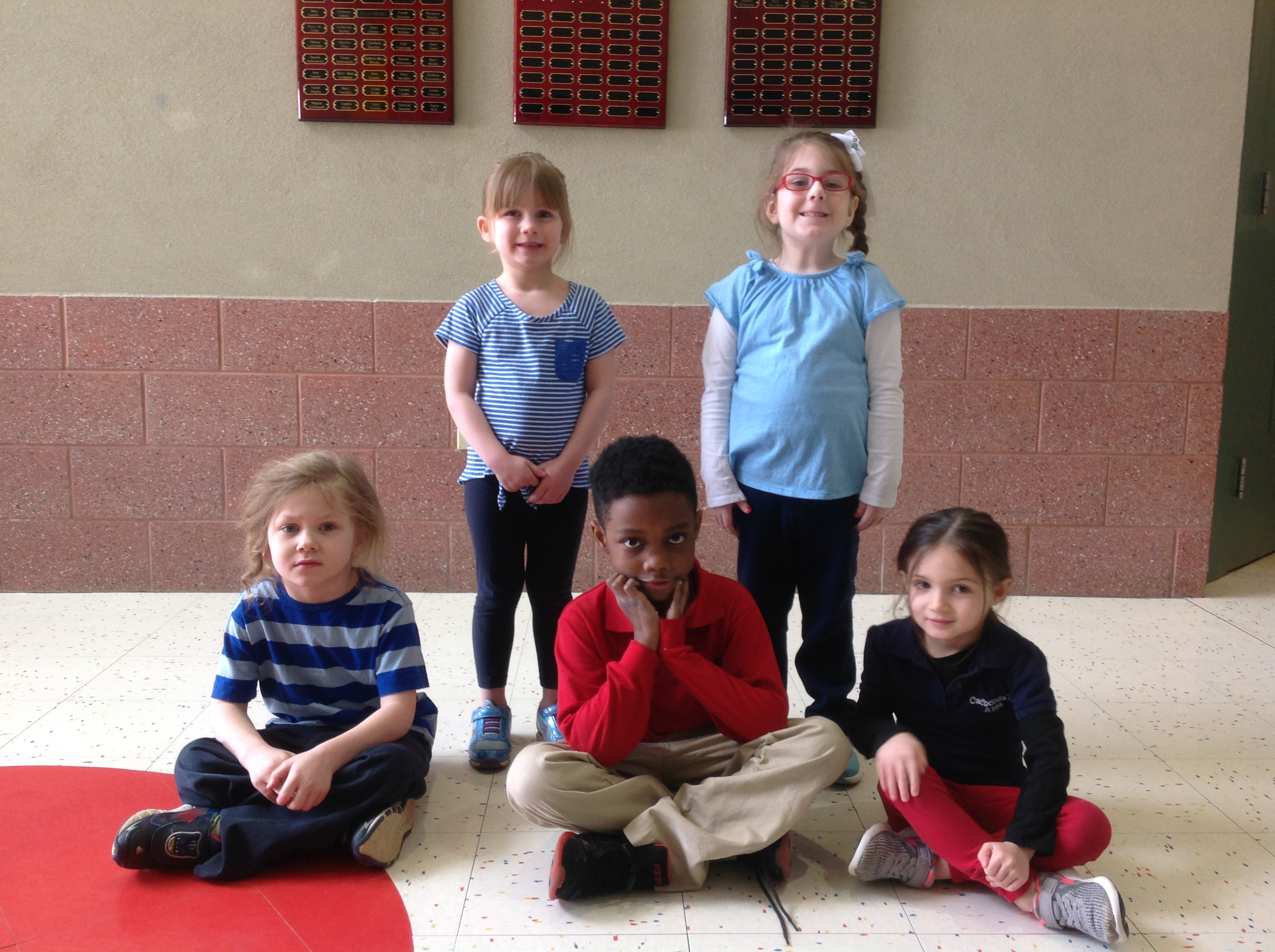 Pre K Amp Kindergarten Citizens Of The Month For January