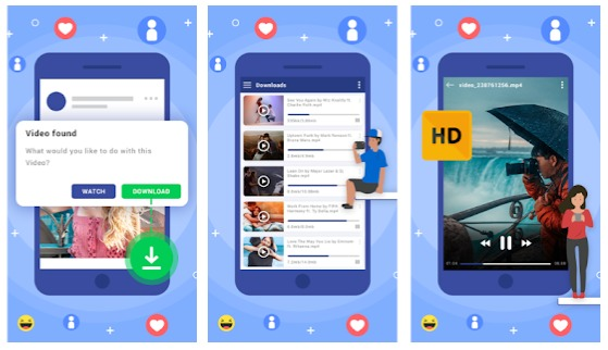 cara download video facebook apk