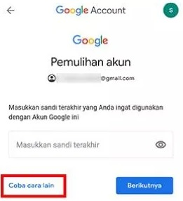 cara mengganti password email gmail di hp