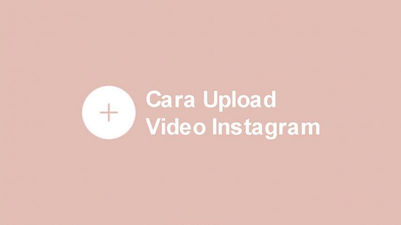 cara upload video di instagram agar ada suaranya