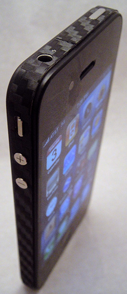 Apple iPhone 4 carbon fiber 3M DI-NOC bumper