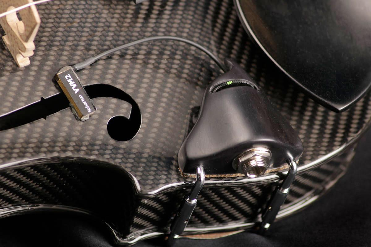 Carbon Fiber Violin Schatten Pickup