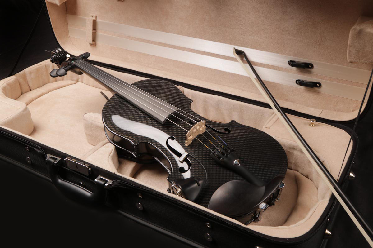 The Gayford Carbon Strad Violin 4 String Carbon Fiber Violin