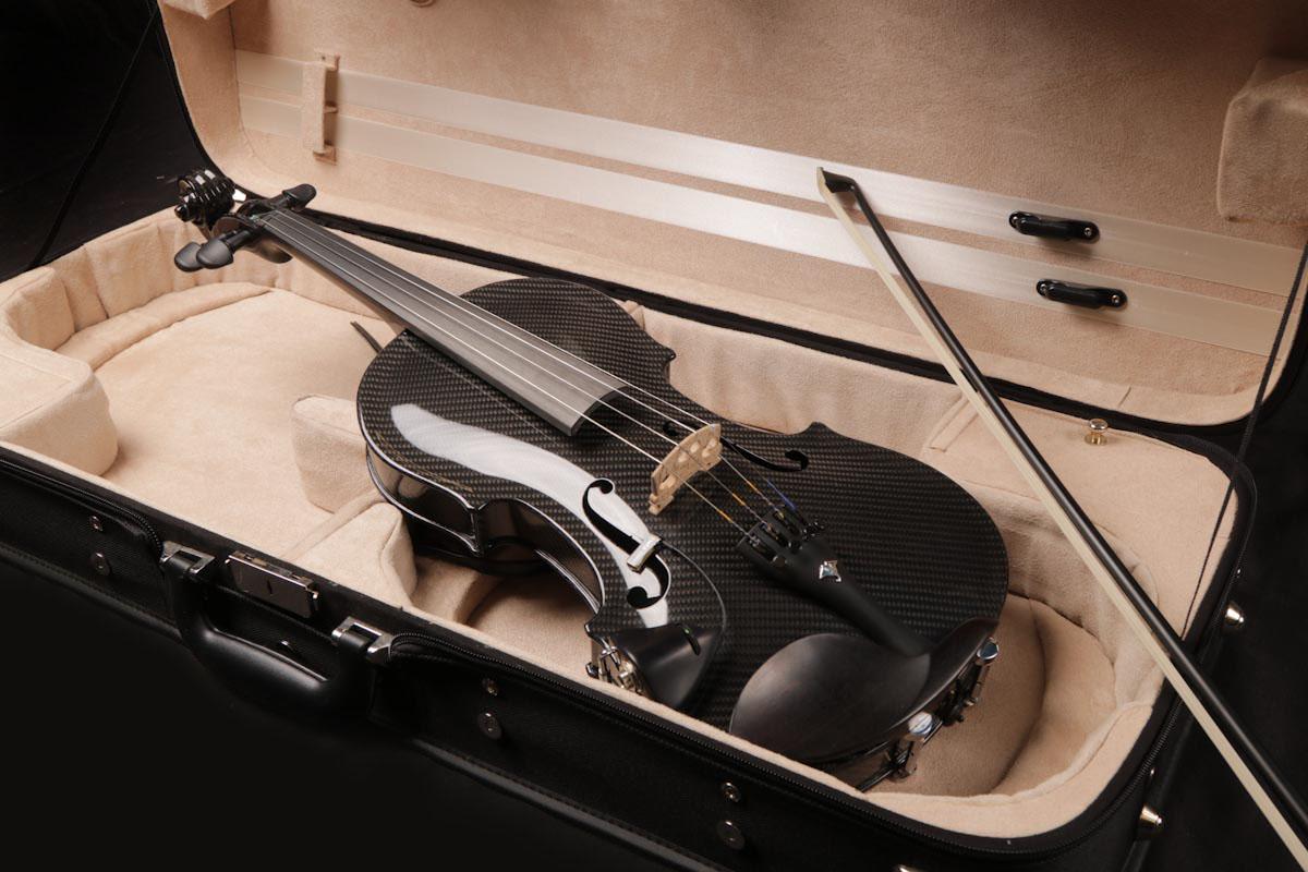 The Gayford Carbon Strad Violin 4 String Carbon Fiber Viola