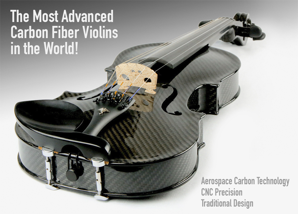 The Most Advanced Carbon Fiber Violin in the World