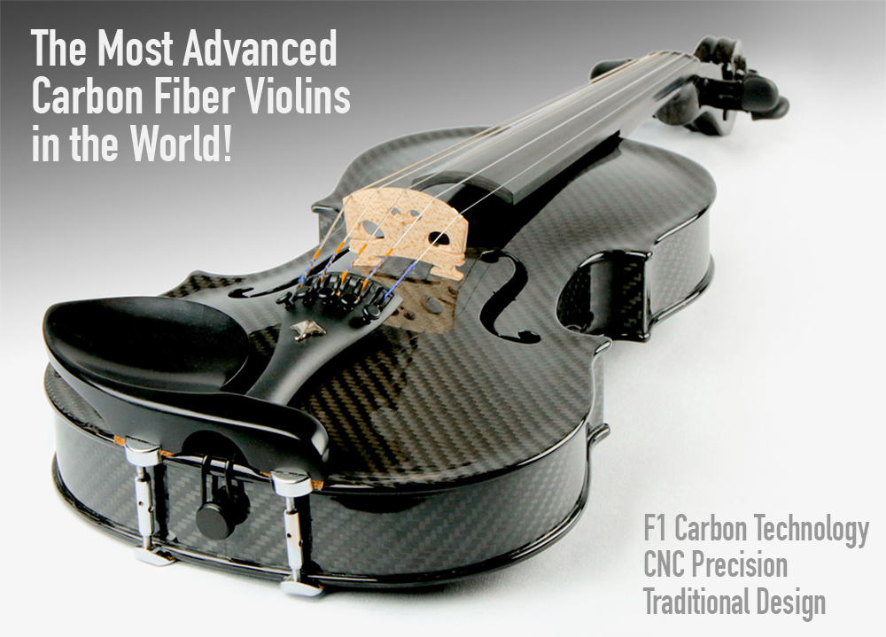 The most technically advanced carbon fiber violin in the world.