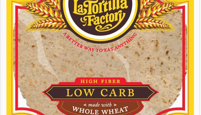 Smart & Delicious Low Carb High Fiber Tortillas 7 inch (Regular Size) by La Tortilla Factory