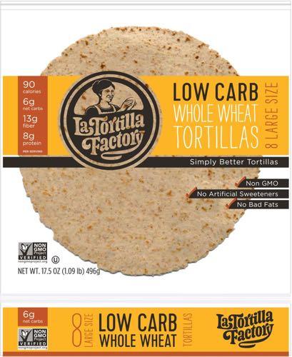 Large Low Carb Tortillas