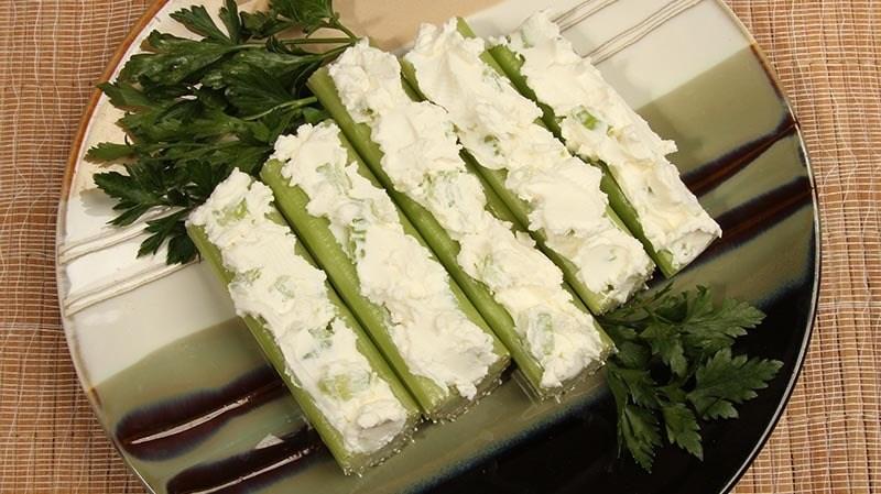 Fat Fast Cream Cheese Stuffed Celery