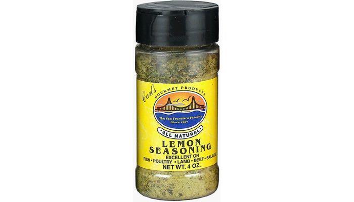 Carl's Gourmet All Natural Lemon Seasoning and Meat Rub