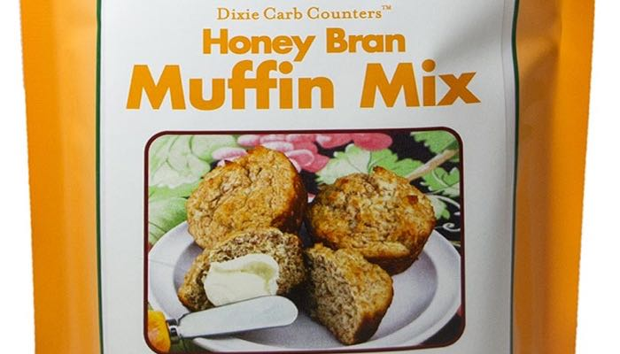 Honey Bran Low Carb Muffin Mix by Dixie Carb Counters