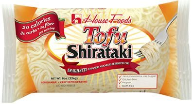 House Foods Low Carb, Low Calorie Tofu Shirataki Pasta 8 oz bag