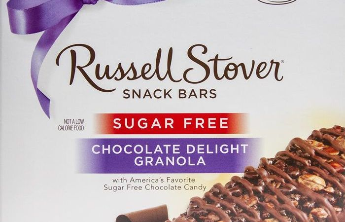 Russell Stover Sugar Free Chocolate Delight Granola Snack Bars