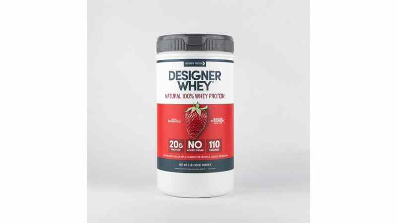 Designer Whey Summer Strawberry 2lb