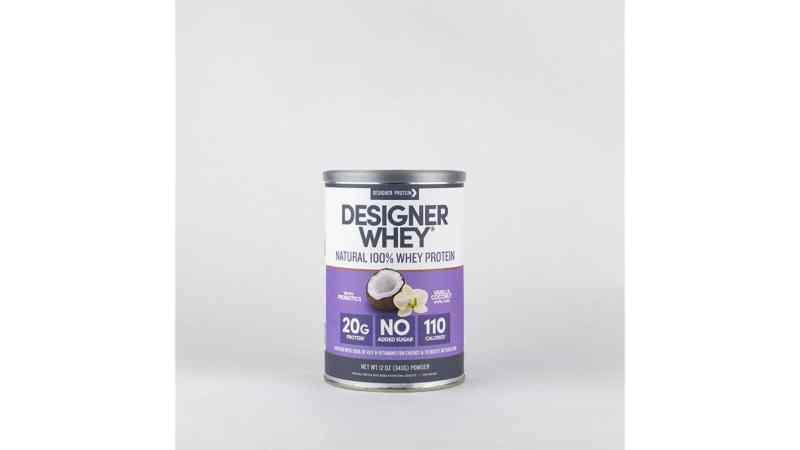 Designer Whey Vanilla Coconut 12oz
