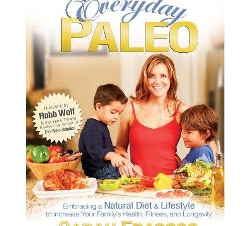 Everyday Paleo Book by Sarah Fragoso