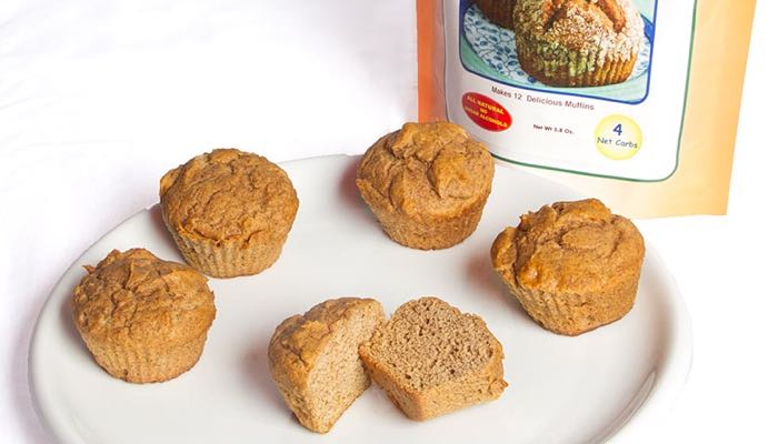 Apple Cinnamon Low Carb Muffin Mix by Dixie Carb Counters