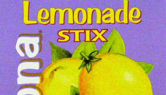 AriZona Sugar Free Lemonade Mix Box of 10 Stix