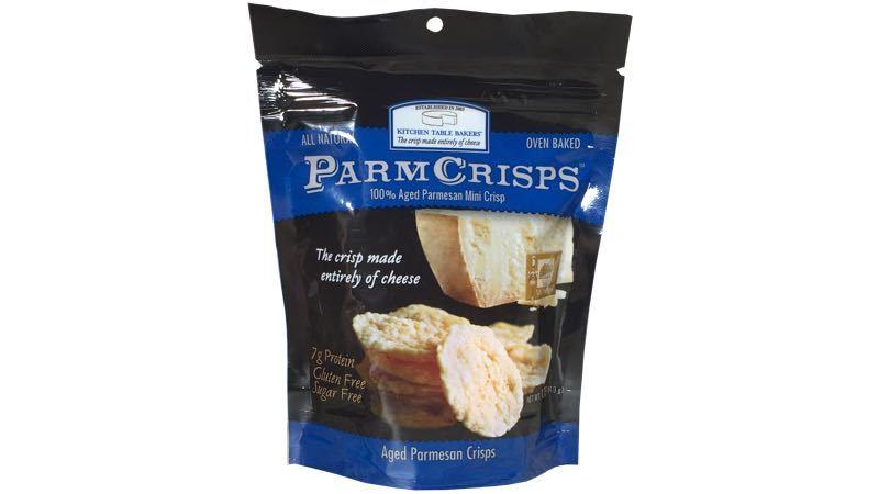 ParmCrisps Aged Parmesan Mini Crisps by Kitchen Table Bakers